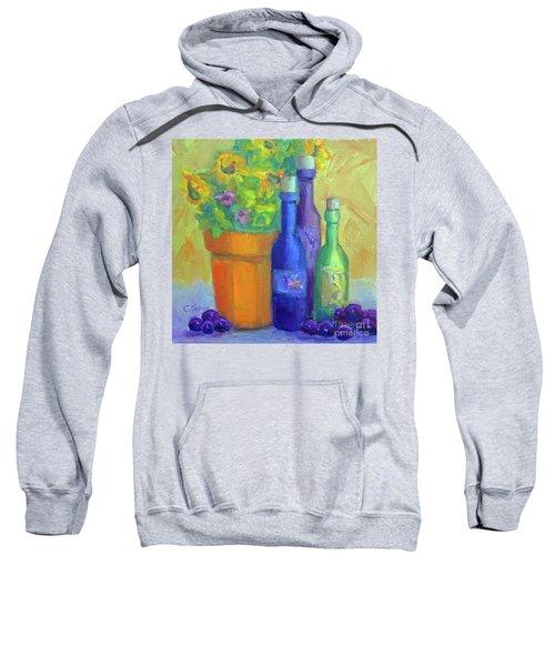 Sunflowers And Wine Sweatshirt
