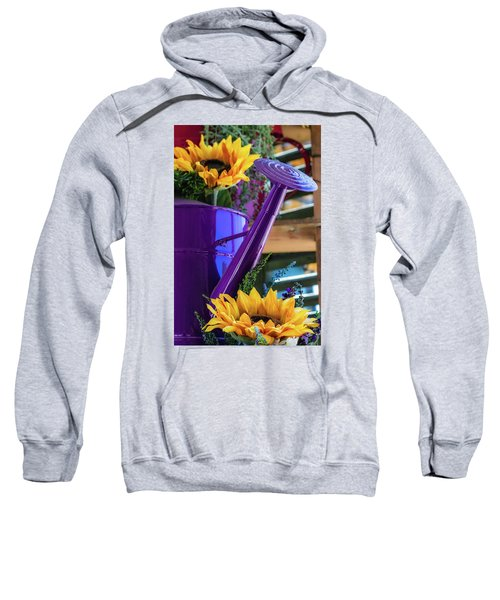 Complementary Sunflowers Sweatshirt