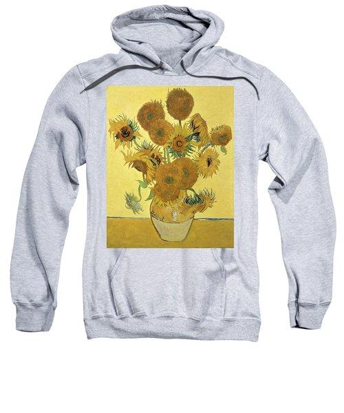 Sunflowers, 1888  Sweatshirt