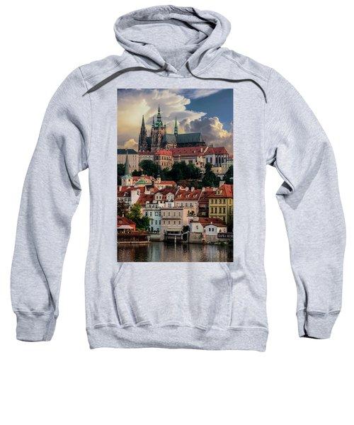 Sunny Afternoon In Prague Sweatshirt