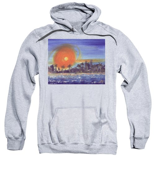 Sunny  Palms Sweatshirt
