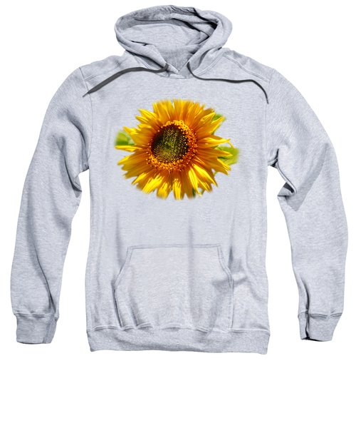 Sunny Sunflower Square Sweatshirt by Christina Rollo