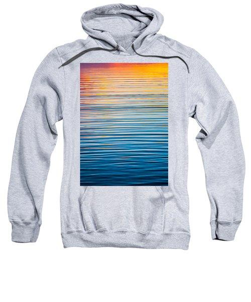 Sunrise Abstract  Sweatshirt