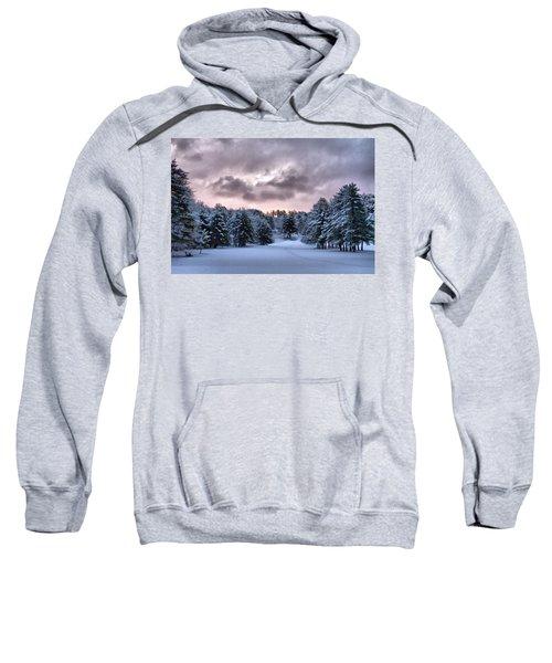 Sunrise After The Snow  Sweatshirt
