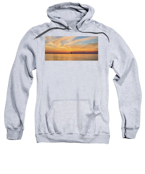 Sweatshirt featuring the photograph Sunrise And Splendor by Bill Pevlor