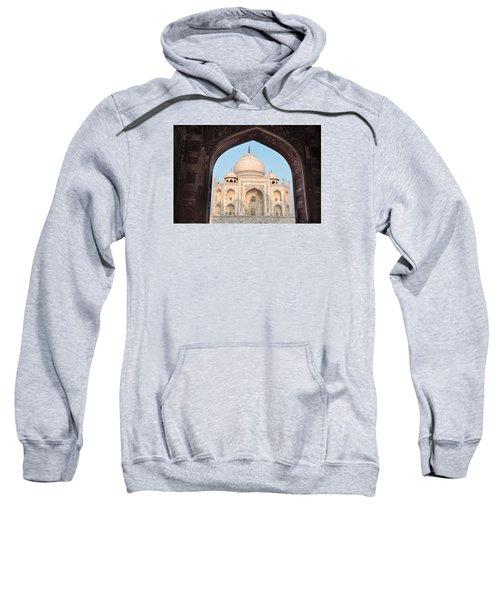 Sunrise Arches Of The Taj Mahal Sweatshirt