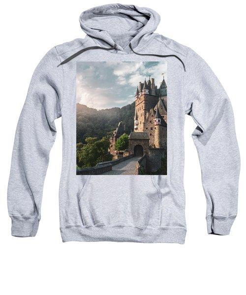 Sunrise At Castle Eltz, Germany Sweatshirt