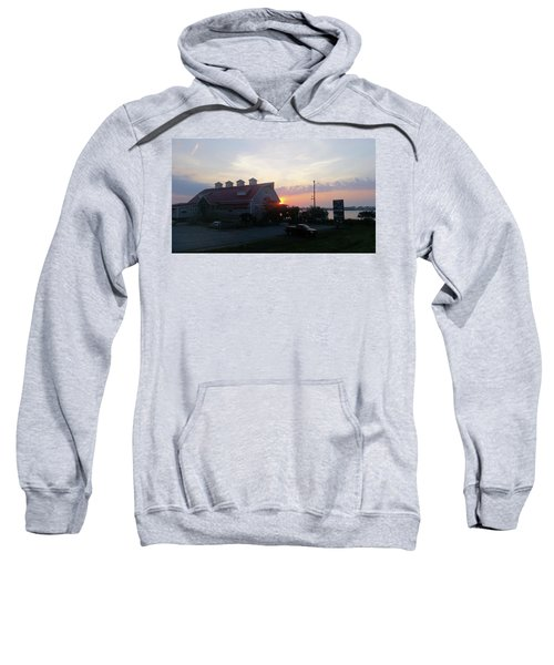 Sunrise At Hooper's Crab House Sweatshirt