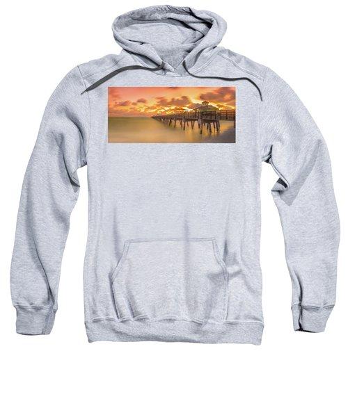Sunrise At Juno Beach Sweatshirt