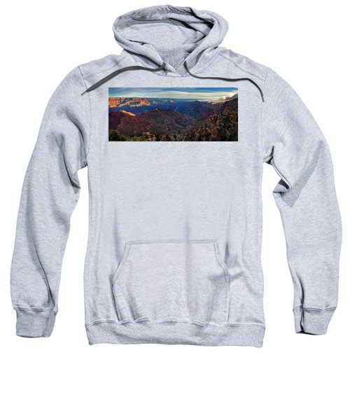 Sunrise At Navajo Point Sweatshirt