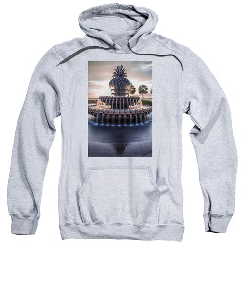 Sunrise At Pineapple Fountain Charleston Sweatshirt