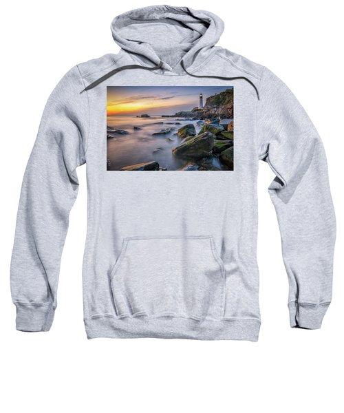 Sunrise At Portland Head Light Sweatshirt