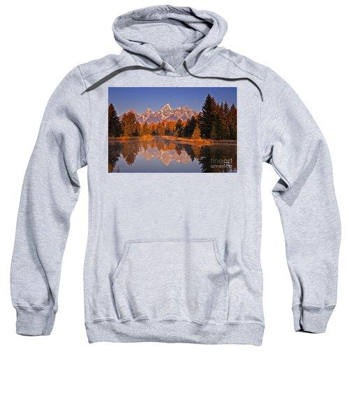 Sunrise At Schwabacher Landing  Sweatshirt