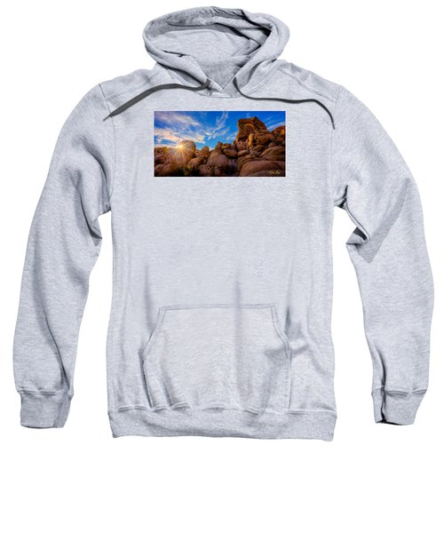 Sweatshirt featuring the photograph Sunrise At Skull Rock by Rikk Flohr