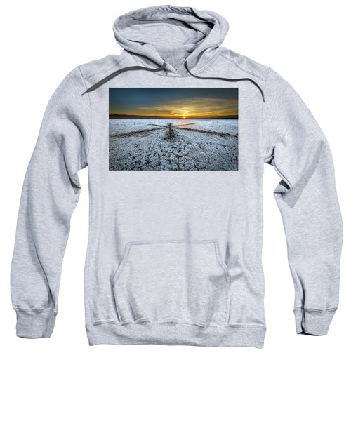 Sunrise At Soda Lake Sweatshirt