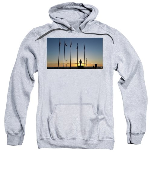 Sunrise At The Firefighters Memorial Sweatshirt