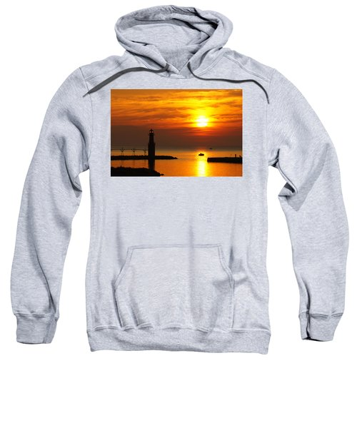 Sunrise Brushstrokes Sweatshirt by Bill Pevlor