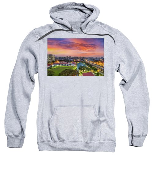 Sunrise By Mrt Station In Eunos Singapore Sweatshirt