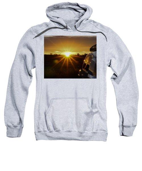 Sunrise And My Ride Sweatshirt