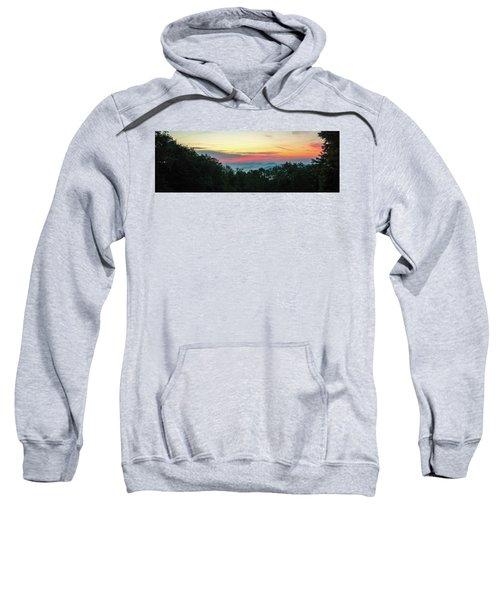 Sunrise From Maggie Valley August 16 2015 Sweatshirt