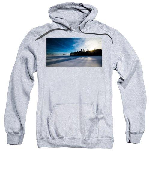 Sunrise In Winter Sweatshirt
