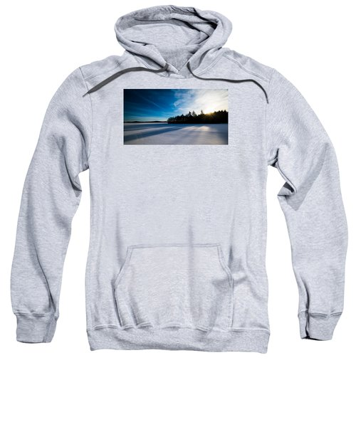 Sunrise In Winter Sweatshirt