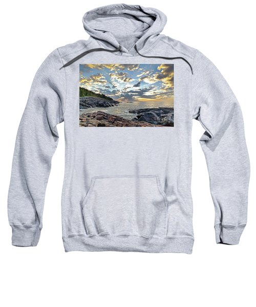 Sunrise On Christmas Cove Sweatshirt