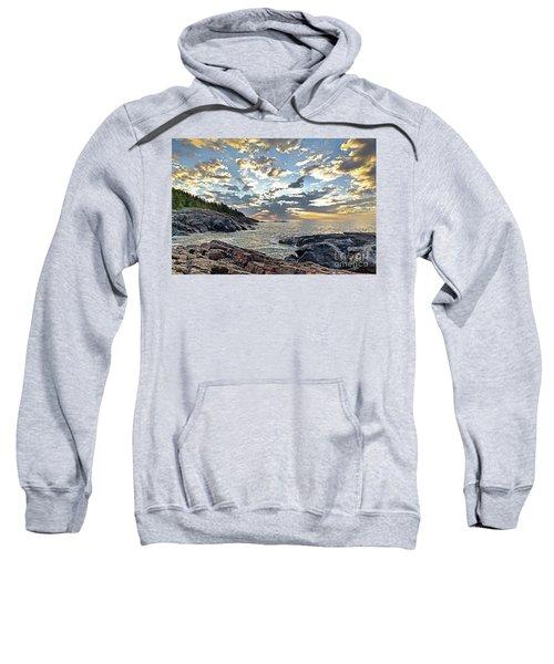 Sunrise On Christmas Cove Sweatshirt