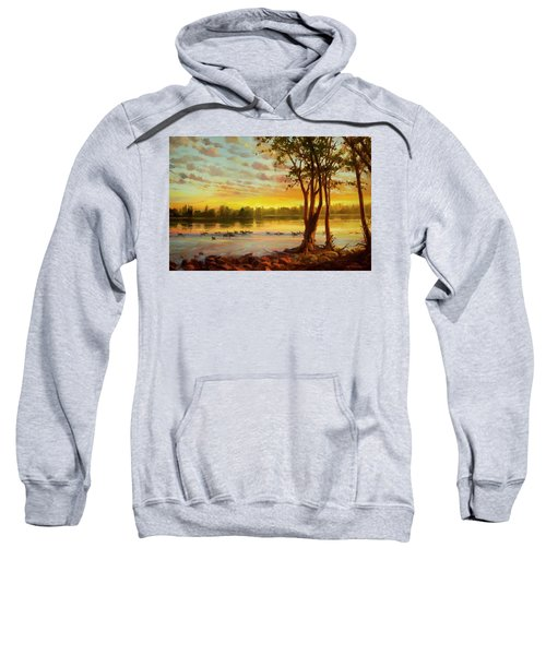 Sunrise On The Columbia Sweatshirt