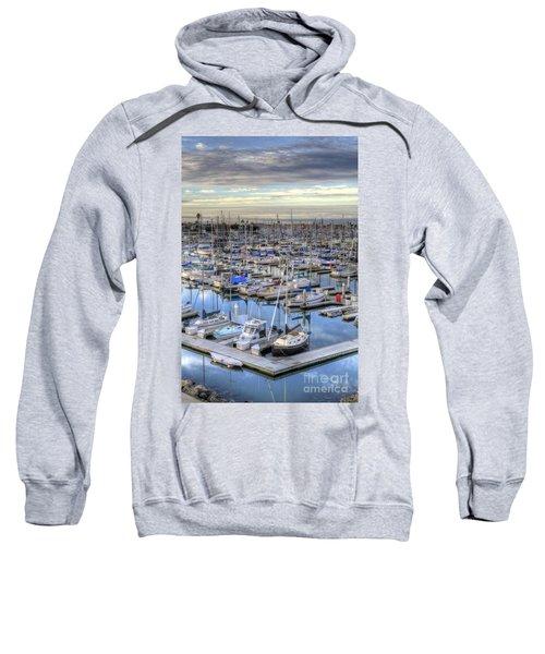 Sunrise On The Harbor Sweatshirt