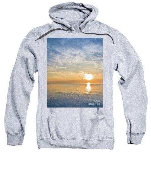 Sunrise Over Lake Michigan In Chicago Sweatshirt