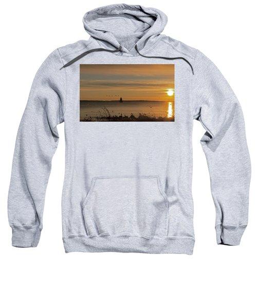 Sunrise Over New Bedford Sweatshirt