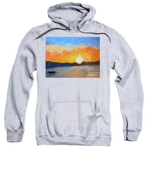 Sunrise At Pine Point Sweatshirt