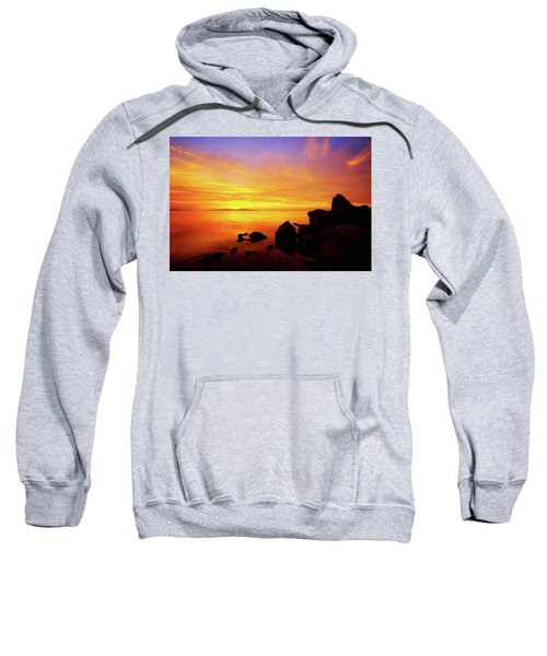 Sunset And Fire Sweatshirt