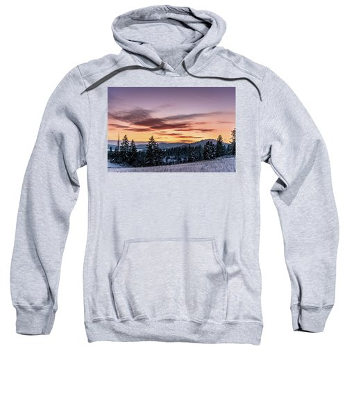 Sunset And Mountains Sweatshirt