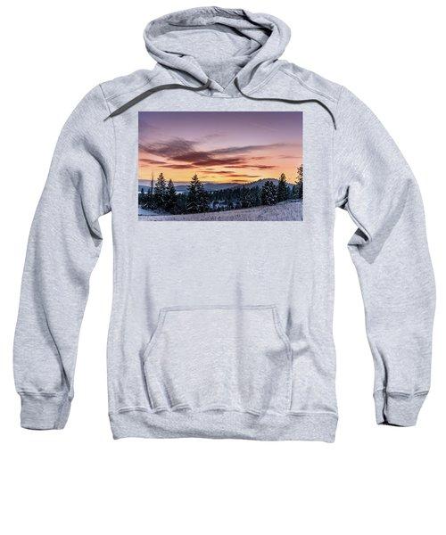 Sunset And Mountains Sweatshirt