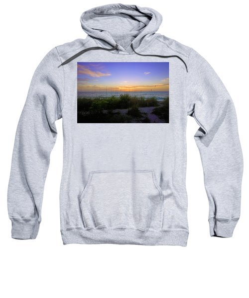 Sunset At Barefoot Beach Preserve In Naples, Fl Sweatshirt