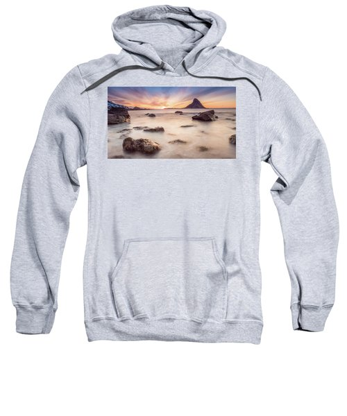 Sunset At Bleik Sweatshirt