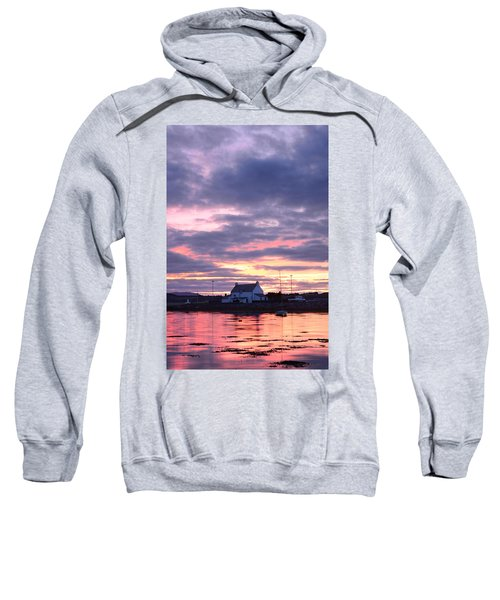 Sunset At Clachnaharry Sweatshirt