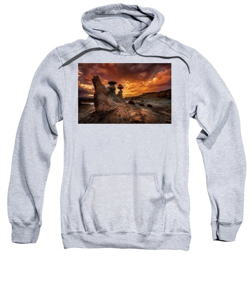 Sunset At Goblin Valley Sweatshirt