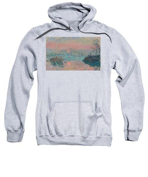 Sunset At Lavacourt Sweatshirt