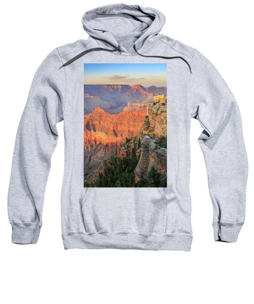 Sunset At Mather Point Sweatshirt by David Chandler