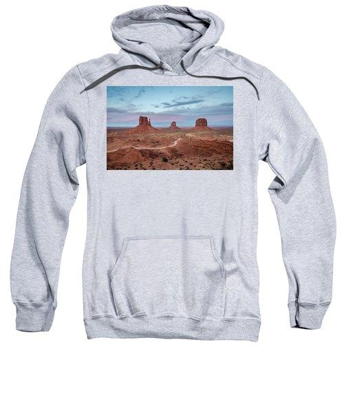 Sunset At Monument Valley No.1 Sweatshirt