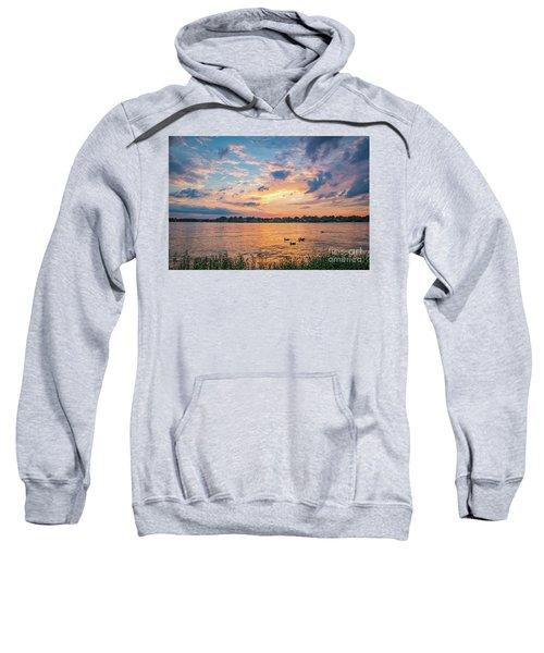 Sunset At Morse Lake Sweatshirt