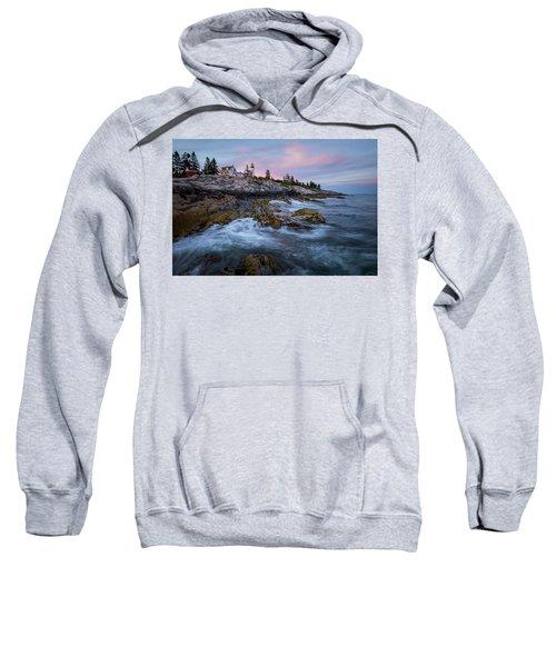 Sunset At Pemaquid Sweatshirt