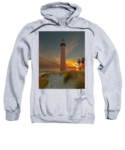 Sunset At Petite Pointe Au Sable Sweatshirt