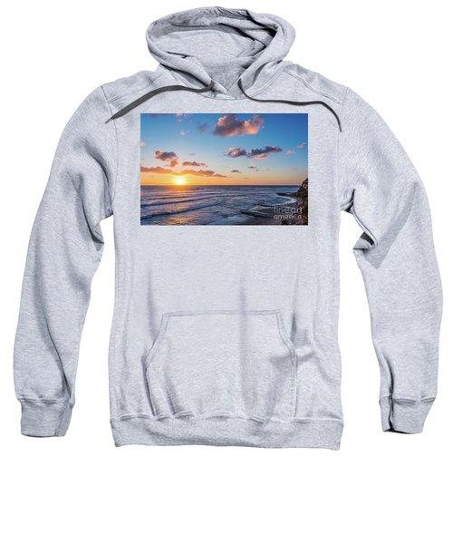 Sunset At Swami's Beach  Sweatshirt