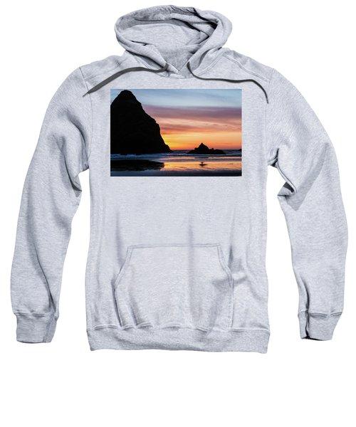 Sunset At Whalehead Beach Sweatshirt
