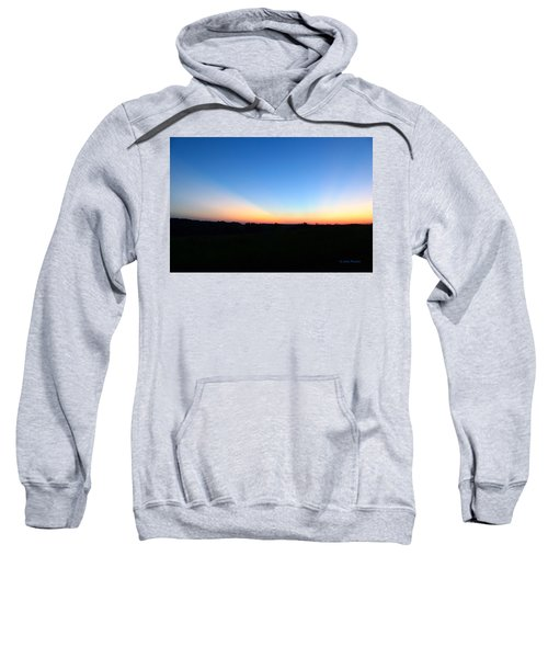 Sunset Blue Sweatshirt