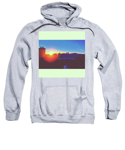 #sunset #bluesky #sun #l4l #lfl Sweatshirt